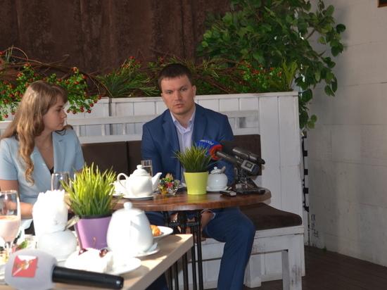Пресс-завтрак в Вологде провел Заместитель Губернатора Алексей Кожевников
