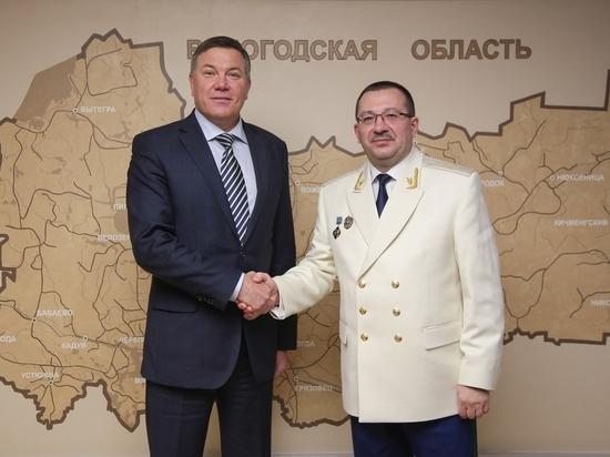Губернатор Вологодской области поздравил работников прокуратуры с профессиональным праздником