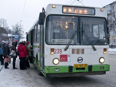 В Вологде поменялись схемы и маршруты движения общественного транспорта. текст.