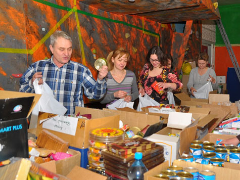 Акция подарок солдату вологда 2012 в Горно-Алтайске,Клинцах